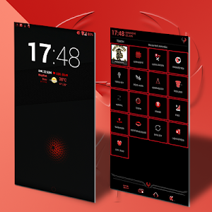 ReBorn Red - AOSP/CM11 Theme v3.1