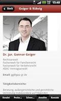 Screenshot of Geiger & Röhrig