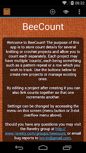 BeeCount Knitting Counter- screenshot thumbnail