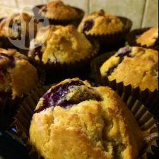 Spelt Blueberry Muffins.