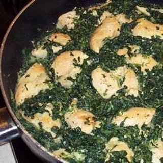 Curry-Style Chicken and Spinach
