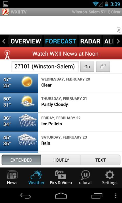 WXII 12 News and Weather - screenshot
