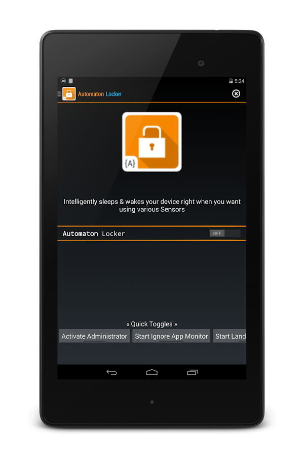 Automaton Locker-Smarter lock- screenshot
