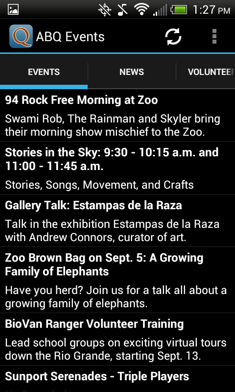 Albuquerque News & Events - screenshot