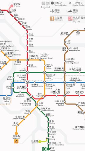 台北市公車動態資訊系統PDA - 大眾運輸轉乘查詢