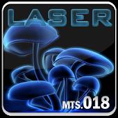Laser Go Launcher EX theme
