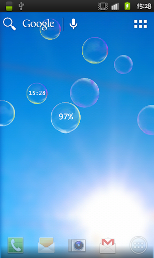 Vivid Bubbles Live Wallpaper