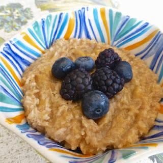 "Creamy Paleo ""Oatmeal"" (Breakfast, Paleo, GAPS, SCD)."