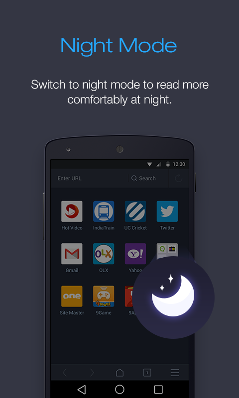 UC Browser pour Android- screenshot