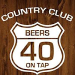 Logo for Country Club Saloon