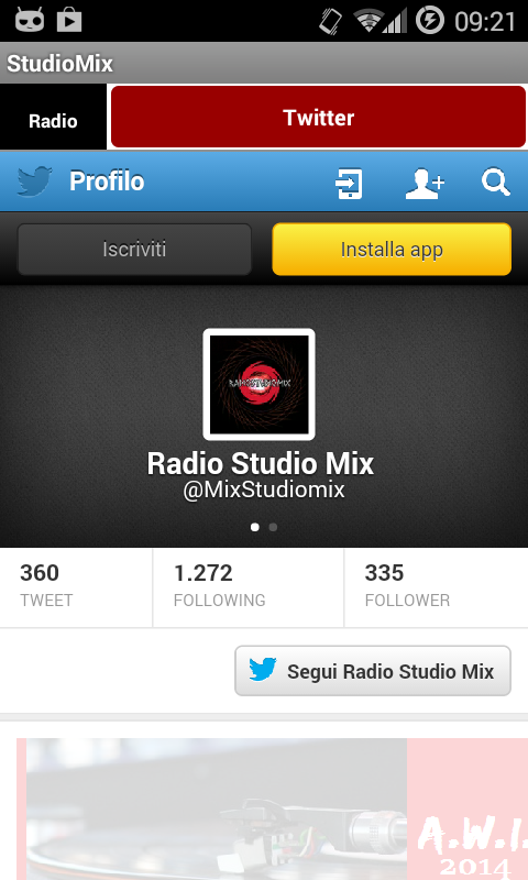 Studio Mix- screenshot
