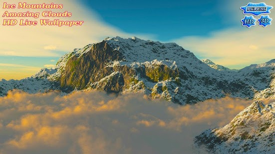 Ice Mountains Amazing Clouds- screenshot thumbnail