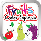 Fruits Color Splash - Fun Game