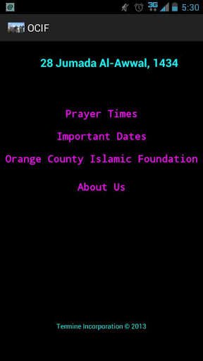Orange County Islamic