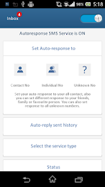 Auto-Response SMS Screenshot 2