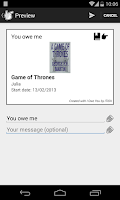 Screenshot of I Owe You - Lite