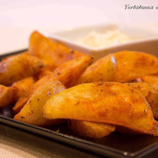 Spicy Potatoes.