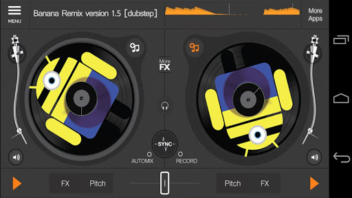 DJs Minion Music Mixer