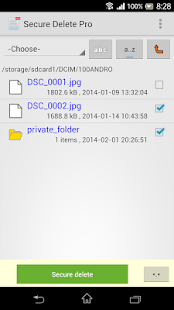 Secure delete Pro- screenshot thumbnail