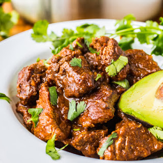 Traditional Tejano Carne Guisada (Braised Beef for Tacos).
