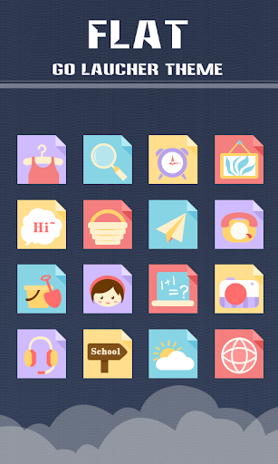 S-LuLuLu GO Launcher Theme theme for Android_Android Themes,Free Android themes,Free Android themes