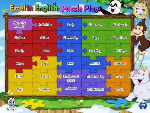 Excel in English Puzzle Play 1