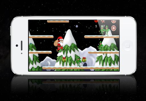 Santa Claus Run Christmas Game