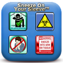 CDCs Sneeze In Your Sleeve™ logo