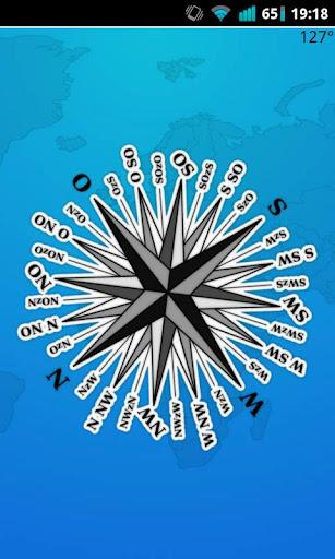 Kompass Magnetkompass