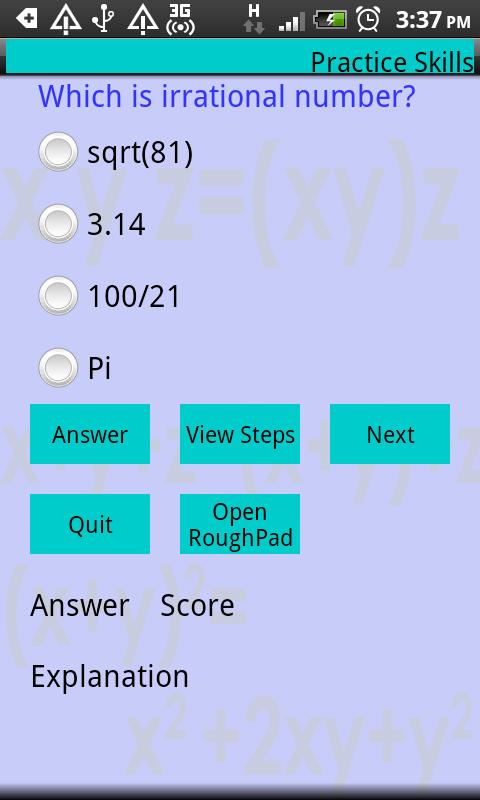Master Algebra Lite- screenshot