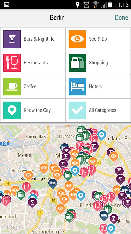 Berlin City Guide - screenshot