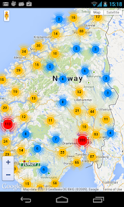 Grocery stores in Norway screenshot 1