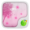 Pink Blossom GO Keyboard Theme icon