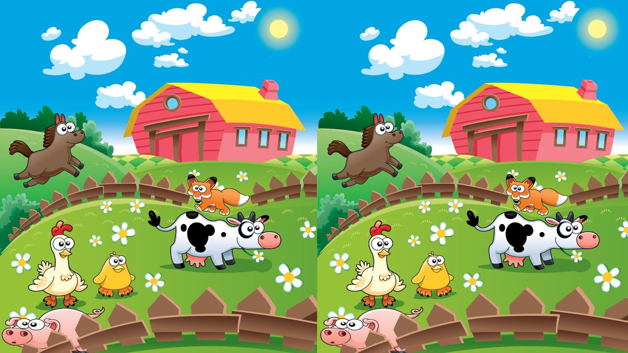 Happy Farm Find Differences - screenshot