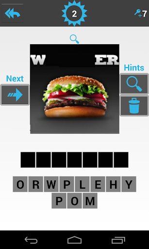 Guess The Food Quiz
