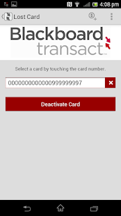 Blackboard Transact eAccounts - screenshot thumbnail