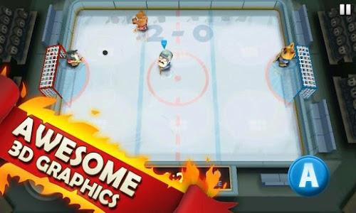 تحميل لعبة الهوكي الرائعة Rage: Hockey v1.0.21 للأندرويد