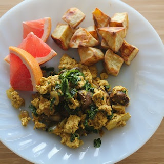Easy Tofu Scramble.