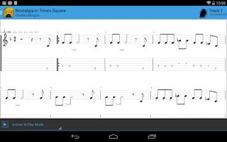 Screenshot of Guitar Tab Viewer