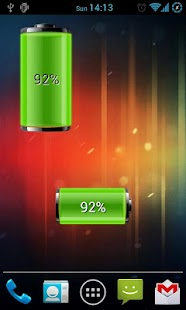 Dual Battery Widget - screenshot thumbnail