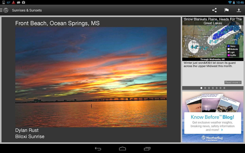 WeatherBug - screenshot