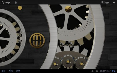 Luxus Ebony HQ Clock Widget APK screenshot thumbnail 4