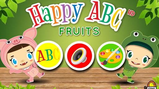 【免費教育App】Happy ABC-Fruit-APP點子