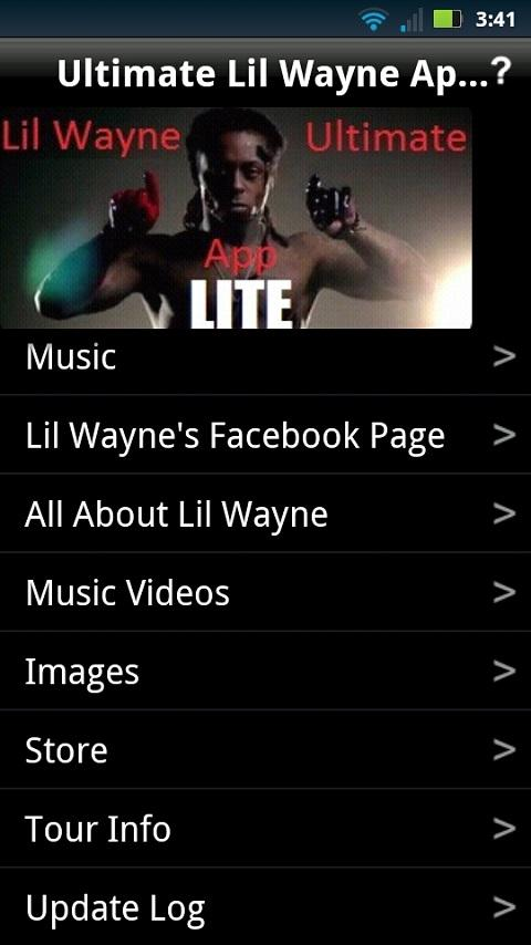 Ultimate Lil Wayne App LITE - screenshot