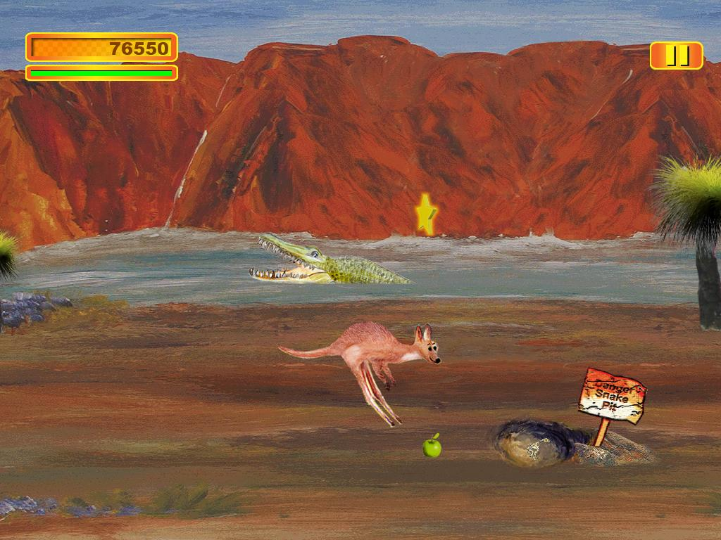 Adventure Roo Kangaroo- screenshot