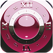 bordeaux deluxe clock widget