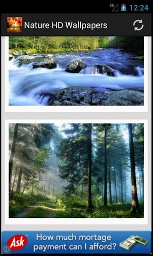تحميل ثيم Magic nature wallpapers
