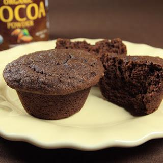 Coconut Flour Cocoa Banana Muffins (Gluten Free)