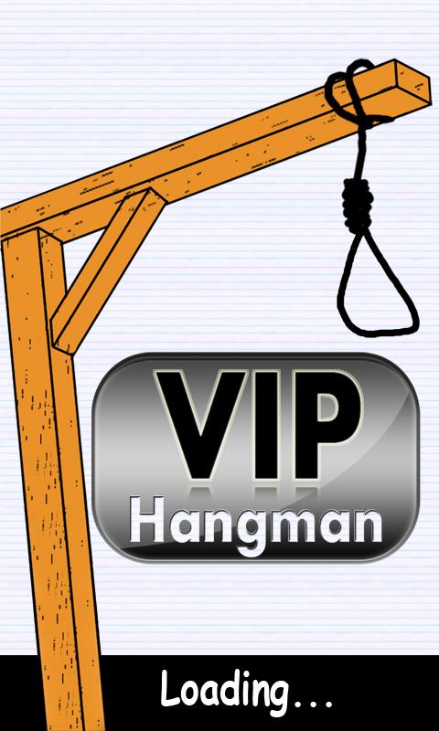 VIP Hangman - screenshot