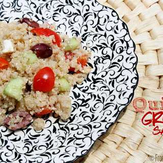 Quinoa Greek Salad {Gluten-Free}